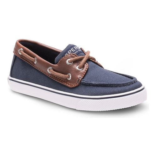 Kids Sperry Boys Bahama Casual Shoe - Navy 12.5C