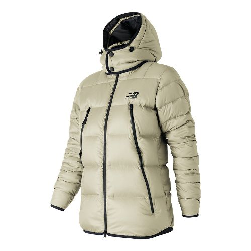 Womens New Balance Down Cold Weather Jackets - Angora S