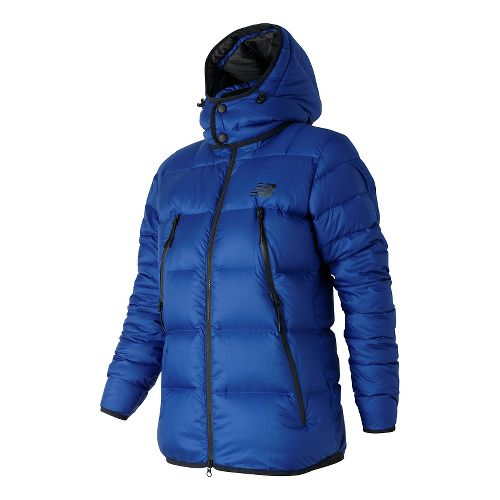 Womens New Balance Down Cold Weather Jackets - Atlantic M