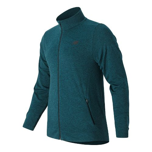 Mens New Balance M4M Seamless Casual Jackets - Castaway L