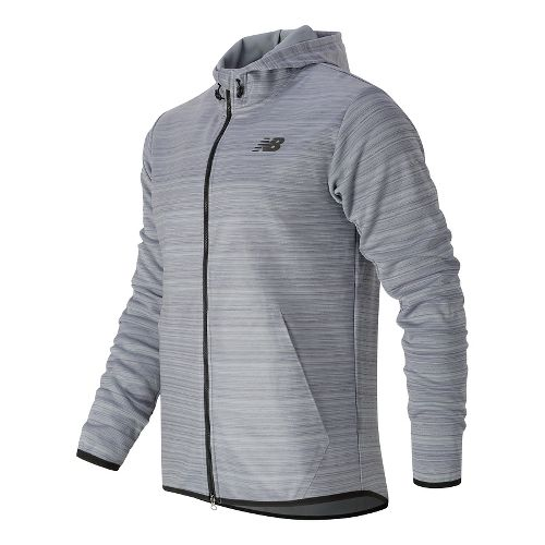 Mens New Balance Kairosport Cold Weather Jackets - Athletic Grey M