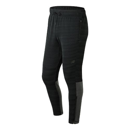 Mens New Balance Kairosport Pants - Black Heather S