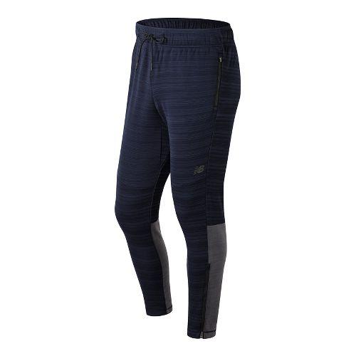 Mens New Balance Kairosport Pants - Pigment Heather S