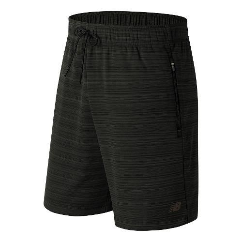Mens New Balance Kairosport Unlined Shorts - Black Heather L