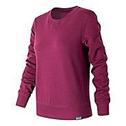 Womens New Balance Classic Crew Long Sleeve Technical Tops