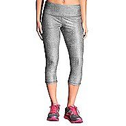 Womens Brooks Greenlight Printed Capri Tights