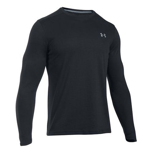 Mens Under Armour ColdGear Infrared T Long Sleeve Technical Tops - Black LR