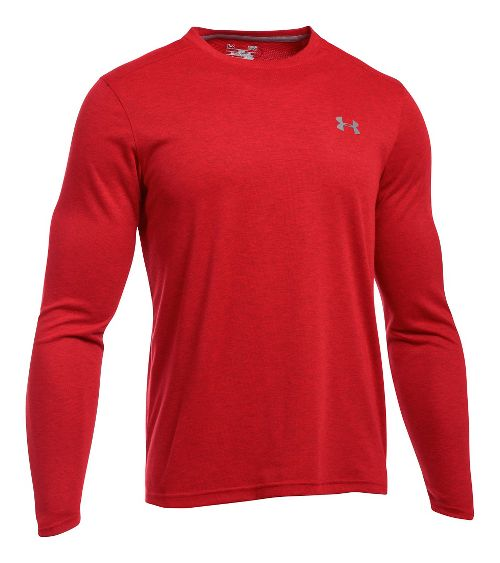 Mens Under Armour ColdGear Infrared Long Sleeve Technical Tops - Red S