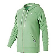Womens New Balance Classic Full Zip Hoodie Casual Jackets