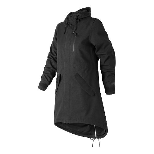 Womens New Balance Womens Drop Tail Cold Weather Jackets - Black XS