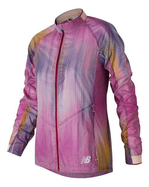 Womens New Balance First Lightweight Jackets - Jewel Multi S