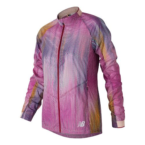 Womens New Balance First Lightweight Jackets - Jewel Multi L