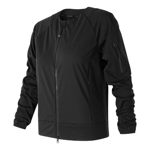 Womens New Balance Softshell Cold Weather Jackets - Black S