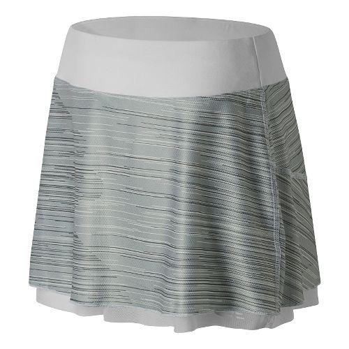 Womens New Balance Rosewater Reversible Fitness Skirts - White M