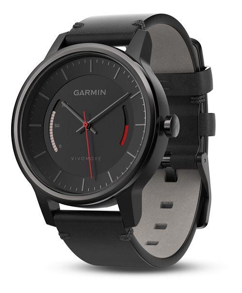 Garmin vivomove Classic Watch with Activity Tracker Monitors - Black/Black