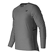 Mens New Balance N Transit Long Sleeve Technical Tops