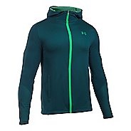 Mens Under Armour ColdGear Infrared Raid Fitted Full-Zip Hoodie & Sweatshirts Technical Tops