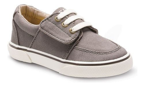 Kids Sperry Ollie Jr. Canvas Casual Shoe - Truffle 7C