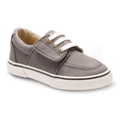 Kids Sperry Ollie Jr. Canvas Casual Shoe - Truffle 7C