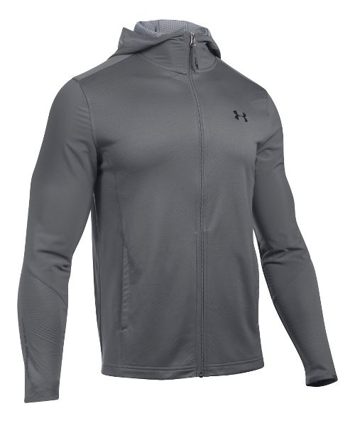 Mens Under Armour ColdGear Infrared Raid Full-Zip Hoodie & Sweatshirts Technical Tops - ...