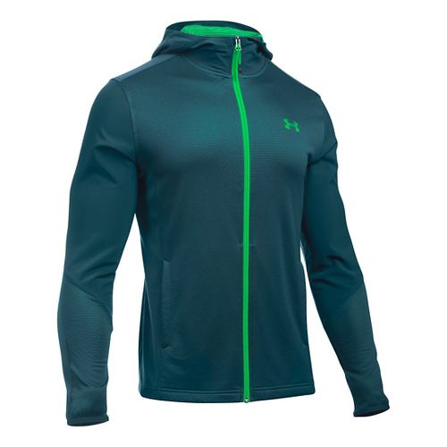 Mens Under Armour ColdGear Infrared Raid Full-Zip Hoodie & Sweatshirts Technical Tops - Nova ...