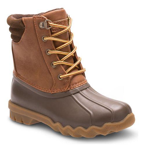 Kids Sperry Avenue Duck Casual Shoe - Brown 3Y