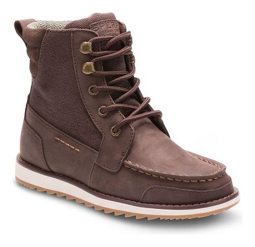 Kids Sperry Dockyard Boot Casual Shoe - Brown 3Y