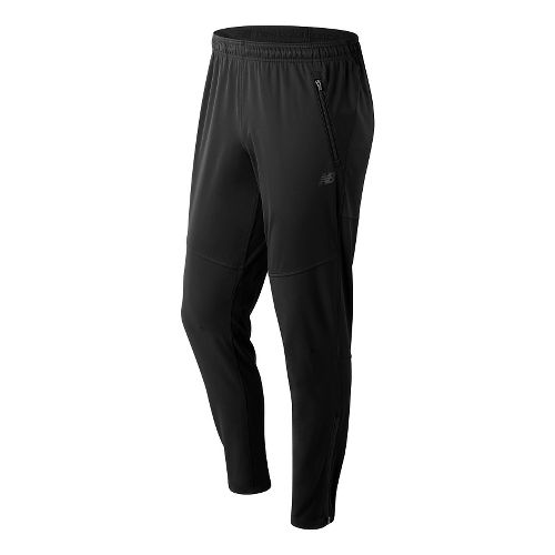Mens New Balance NB Heat Pants - Black L