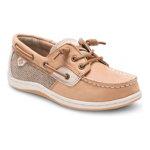 Sperry Girls Songfish Casual Shoe - Oat 13C