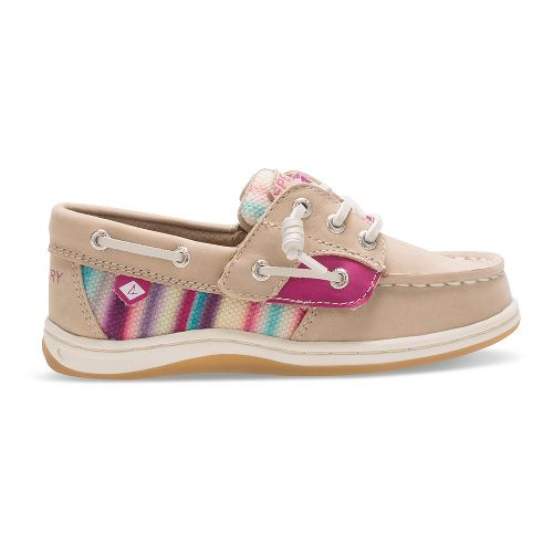 Sperry Songfish Jr. Casual Shoe - Silver Cloud/Stripe 8C