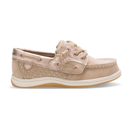 Sperry Songfish Jr. Casual Shoe - Silver/Rose Gold 7.5C