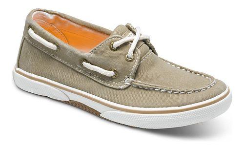 Kids Sperry Halyard Casual Shoe - Khaki 7Y