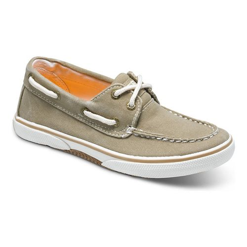 Kids Sperry Halyard Casual Shoe - Khaki 6Y