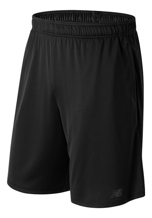 Mens New Balance Versa Unlined Shorts - Black XL