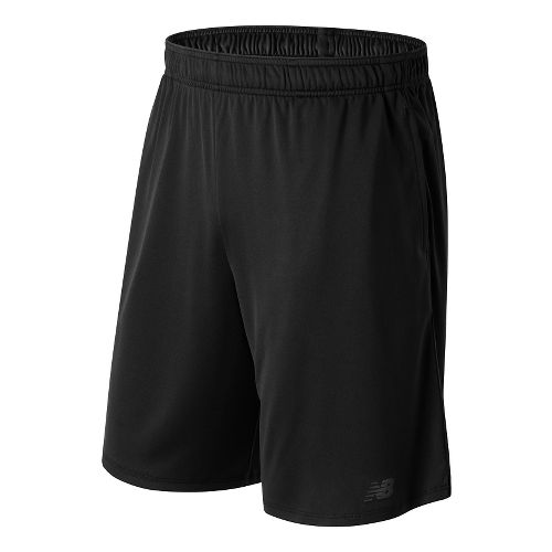 Mens New Balance Versa Unlined Shorts - Black L