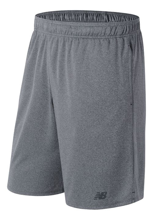 Mens New Balance Versa Unlined Shorts - Athletic Grey M