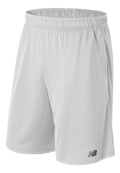 Mens New Balance Versa Unlined Shorts - White M