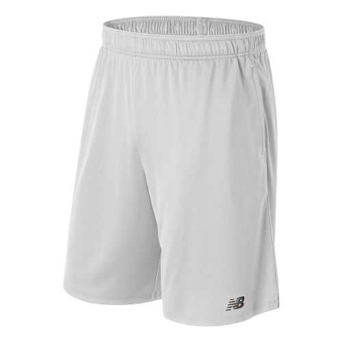 Mens New Balance Versa Unlined Shorts - White M