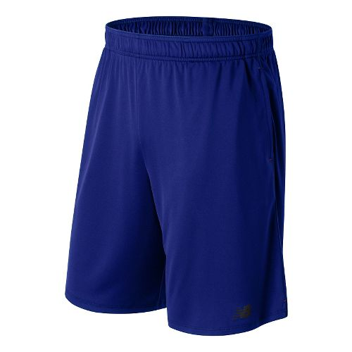 Mens New Balance Versa Unlined Shorts - Marine Blue L