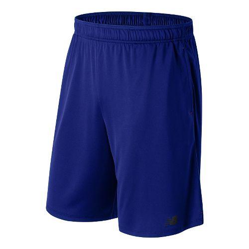 Mens New Balance Versa Unlined Shorts - Marine Blue M
