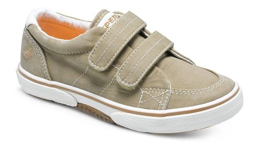 Kids Sperry Halyard H and L Casual Shoe - Khaki 7.5C