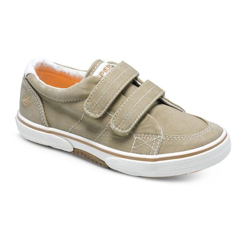 Kids Sperry Halyard H and L Casual Shoe - Khaki 6.5C