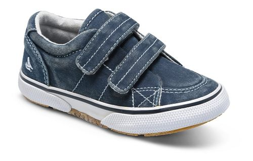 Kids Sperry Halyard H and L Casual Shoe - Navy 6C