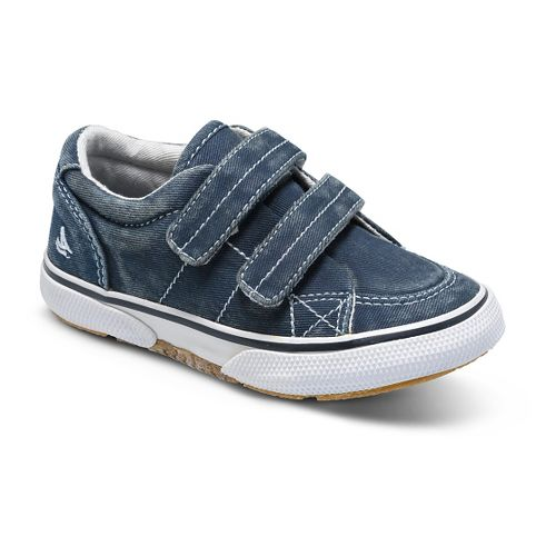 Kids Sperry Halyard H and L Casual Shoe - Navy 7.5C