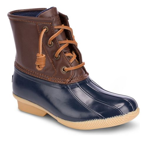 Kids Sperry Saltwater Boot Casual Shoe - Navy 6Y