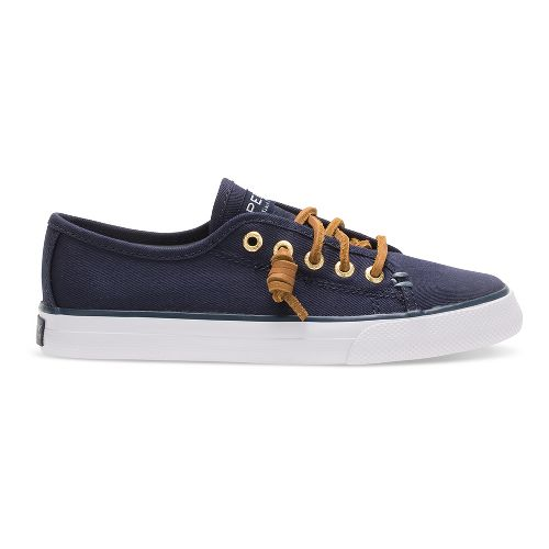 Sperry Seacoast Textile Casual Shoe - Navy 1Y