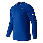 Mens New Balance NB Ice Long Sleeve Technical Tops