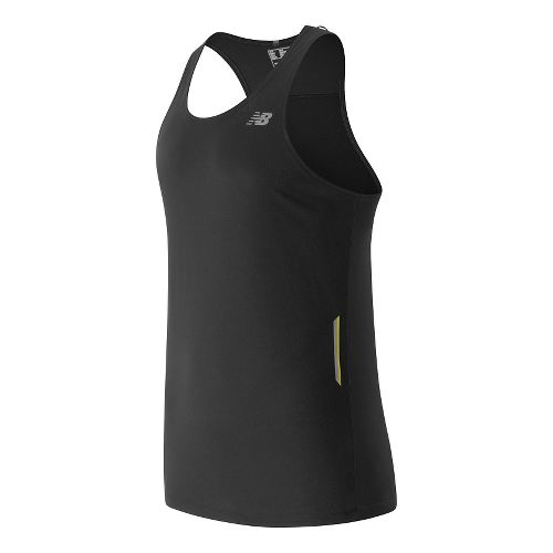 Mens New Balance NB Ice Singlet Sleeveless & Tank Technical Tops - Black XXL