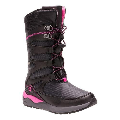 Kids Merrell Arctic Blast Waterproof Boot Casual Shoe - Black 11C