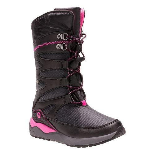 Kids Merrell Arctic Blast Waterproof Boot Casual Shoe - Black 12C